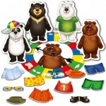 Magnetic game Dress the bear up RK 3203-01