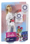 BARBIE OLIMPIJKA KARATEKA GJL73/GJL74