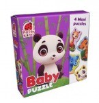 Baby puzzle 4 maxi puzzles ZOO 1210-02