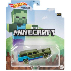 Hot Wheels Autko Minecraft Zombie GJJ23 GYB70