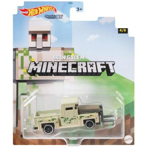 Hot Wheels Autko Minecraft Iron Golem GJJ23 GYB68