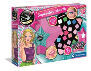 Clementoni Crazy Chic Superstar Make up 17650