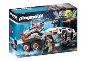 PLAYMOBIL Wehikuł bojowy Spy Team - 9255