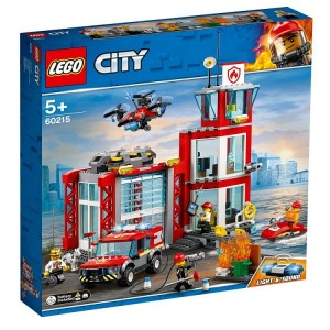 LEGO CITY Remiza strażacka 60215
