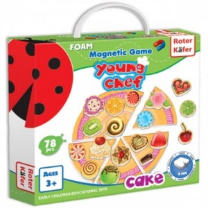 Magnetic game Cake RK 3202-02