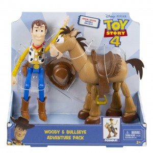 TOY STORY 4 Chudy i Mustang zestaw GGB26
