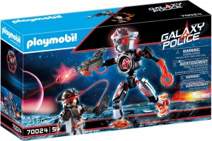 Playmobil 70024 Galaxy Robot piratów