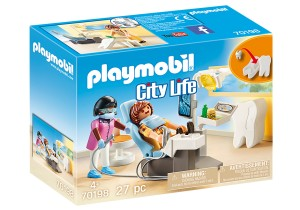PLAYMOBIL DENTYSTA 70198