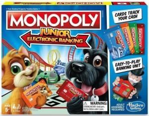 MONOPOLY JUNIOR ELECTRONIC BANKING E1842