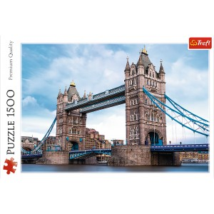 PUZZLE 1500 TOWER BRIDGE NA TAMIZĄ  26140