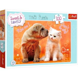 PUZZLE 100 SWEET & LOVELY CAŁUSY 16264