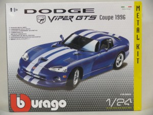 BBU 1:24 CB KIT Dodge Viper GTS Coupe 25023