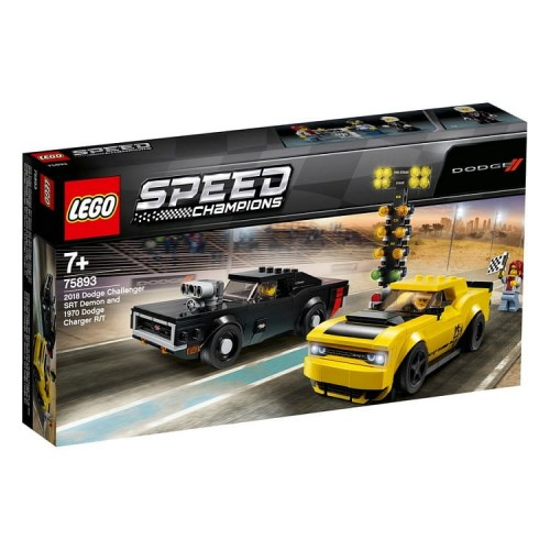 Lego Speed Champions 75893 Dodge Challenger i Charger (2).jpg
