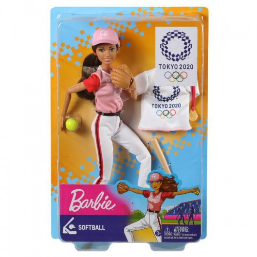 BARBIE OLIMPIJKA SOFTBALL GJL73 GJL77.jpg