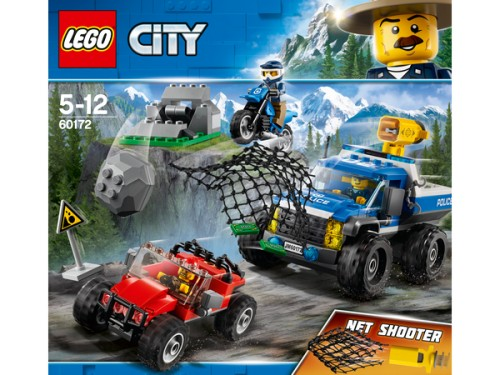 Lego City Police Pościg Górską Drogą 60172 Lego City Zabawka